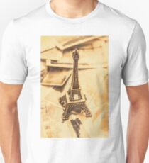 Holiday nostalgia in vintage France Unisex T-Shirt
