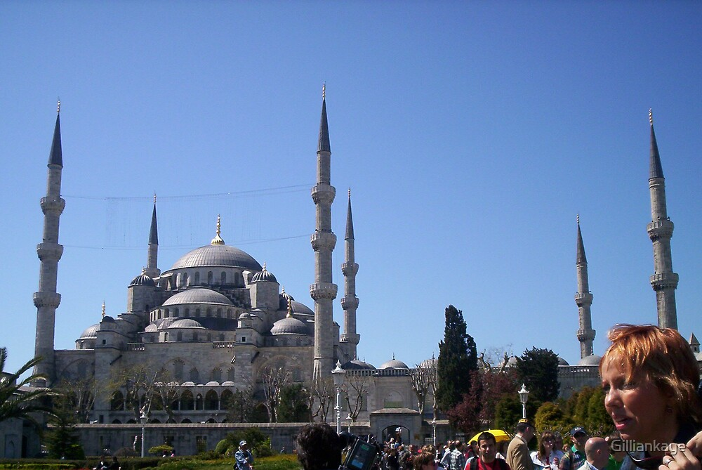 Blue Mosque by Gilliankaye