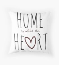 Zuhause ist dort, wo das Herz ist Dekokissen