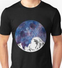 Half Dome Mountain Watercolor Unisex T-Shirt