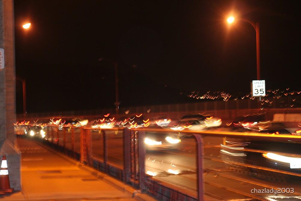 GoldenGate Bridge Night Life by chazlady2003