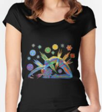 Bandhasana - 2013 as Tshirt Women's Fitted Scoop T-Shirt