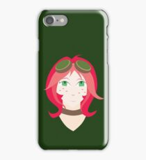 Steampunk Goggles Girl iPhone Case/Skin