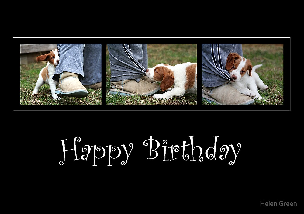 Birthday Card No 1 by Helen Green