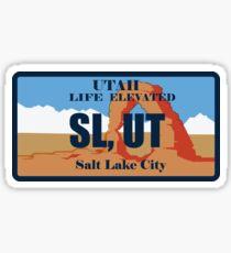 Licence to SL, UT Sticker