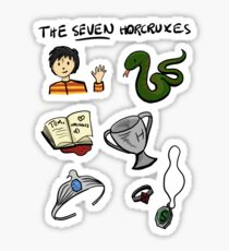 The Seven Horcruxes Sticker