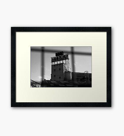 Nylex Silo v.1 Framed Print