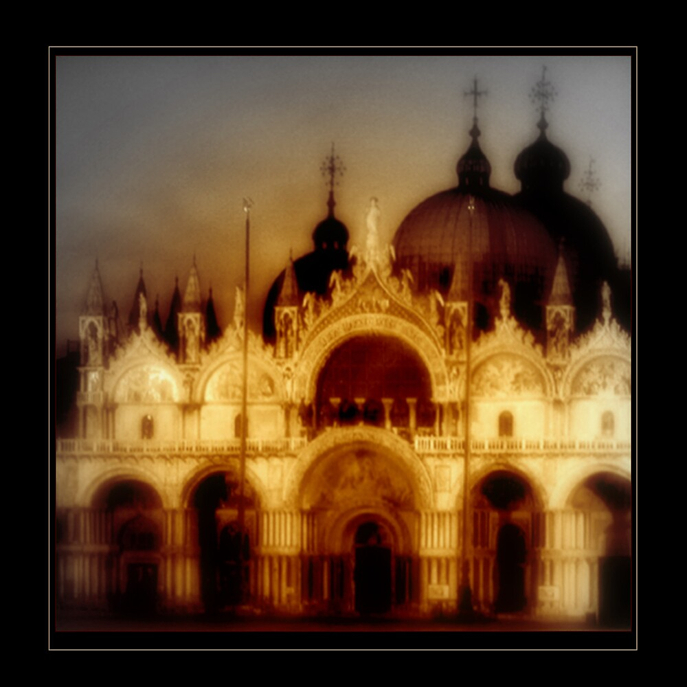 San Marcos Basillica, Venice by Sue Wickham