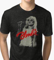 blondie - icon punk Tri-blend T-Shirt
