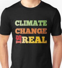 March For Science Washington DC 2017 Climate Change Is Real Shirt T-Shirt