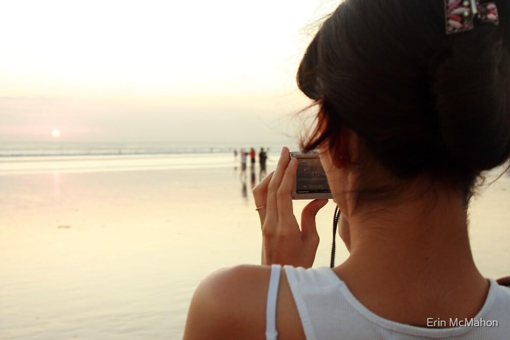 Kuta Sunset - Bali - Indonesia by Erin McMahon