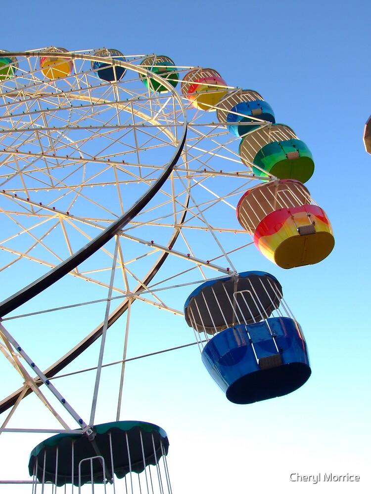 Big wheel by Cheryl Morrice