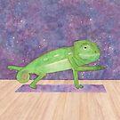 Karma, Karma, Karma, Karma,Yoga Chameleon  by speakinglouder
