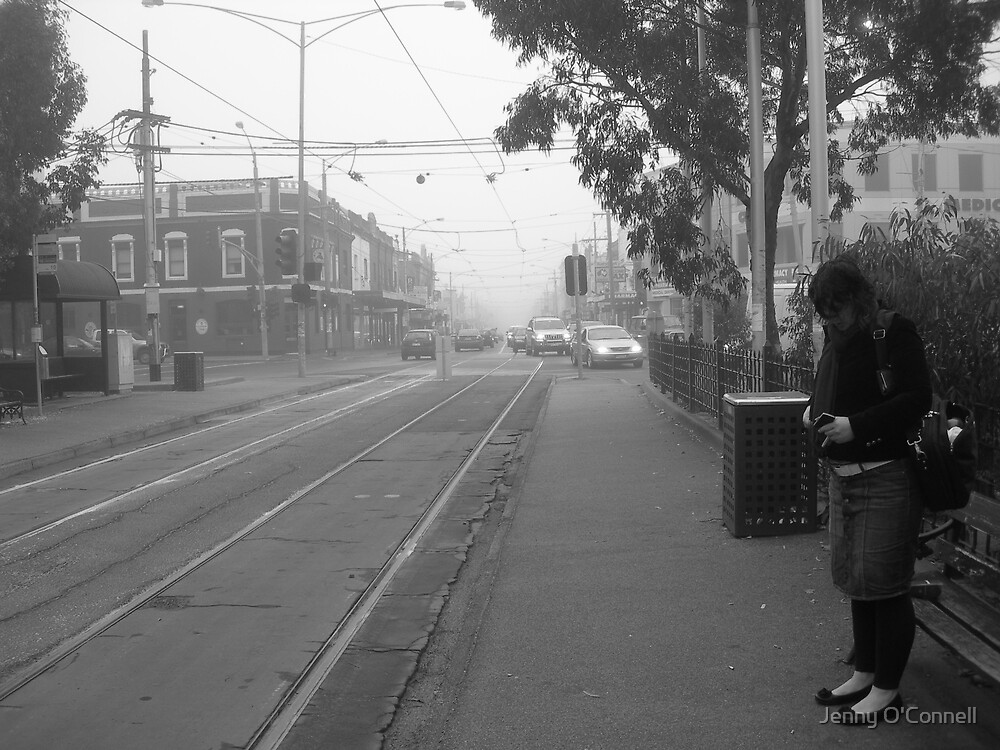 Sydney Road and the Fog by Jenny O'Connell