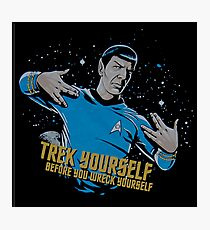 Trek Yourself And Be The Star Photographic Print