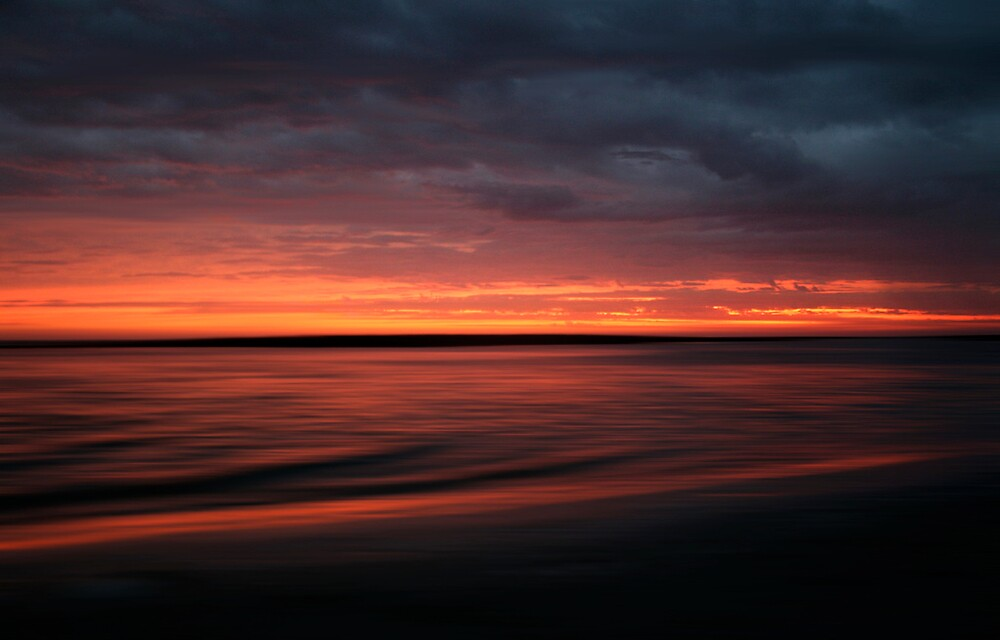 Moving Sunset by Harley