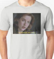 Dana Scully eye roll // x-files T-Shirt