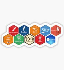 The R/RStudio Universe Sticker
