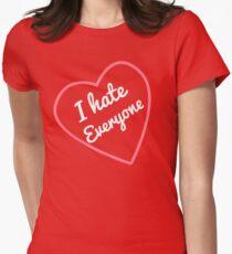 Camiseta entallada para mujer I Hate Everyone Valentines Day Special