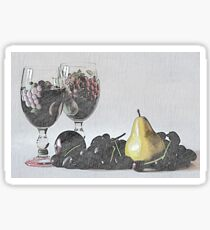 Wine and Fruit                 Sticker