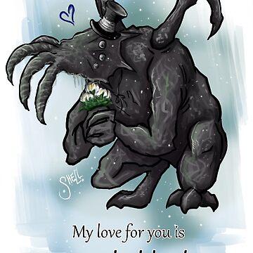 Unspeakable Deep Valentine's Card by SkaStudios