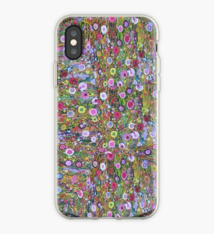 Psychedelic Pattern   Flower Frenzy iPhone Case