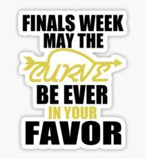 Finals Week Sticker
