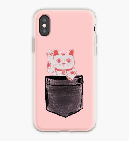 Maneki   Pocket full of Luck iPhone Case