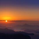 Sunrise over Sai Kung, Hong Kong by Dean Bailey