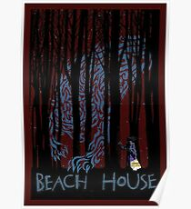 Beach House Band tee Poster