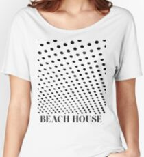 Beach House Bloom Tee Inverted Women's Relaxed Fit T-Shirt