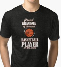 Basketball Game That Is Very Cool And Too Cool Tri-blend T-Shirt