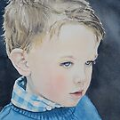Portrait de Noa  by Aline Gason