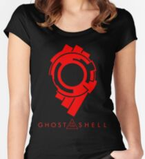 Ghost in the Shell logo Women's Fitted Scoop T-Shirt