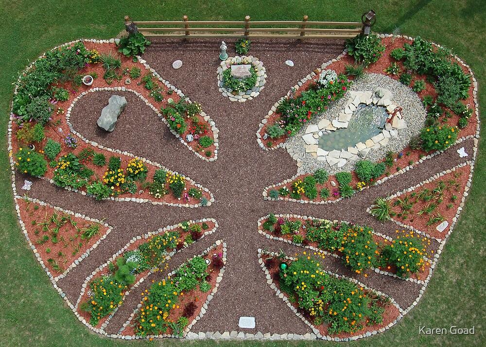 Butterfly Garden by Karen Goad