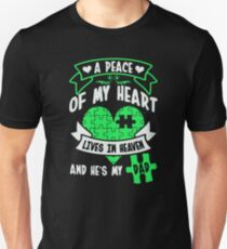 A peace of my heart lives in heaven T-Shirt