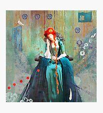 träumende Frau Photographic Print