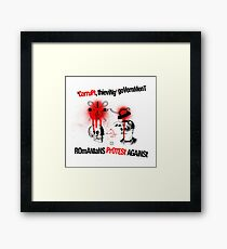 Cynical Circus Framed Print