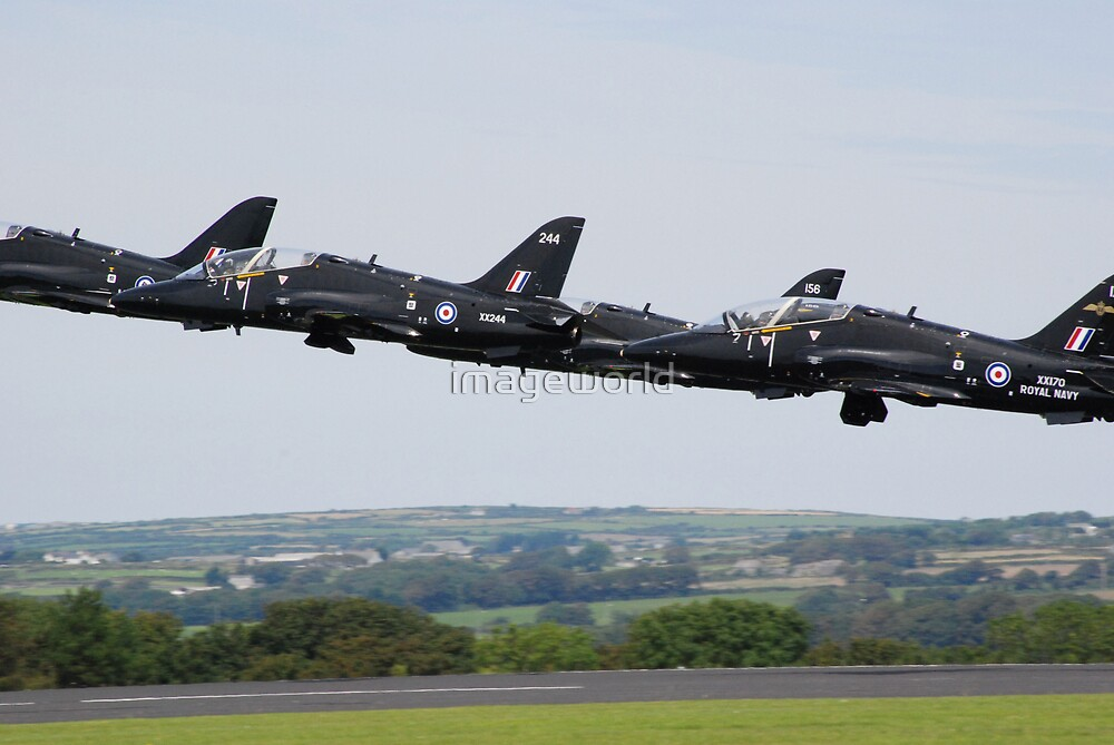 In Line Astern by imageworld
