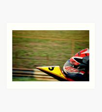 Moto Velocity Art Print