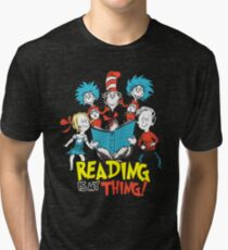 Reading Is My Thing Tri-blend T-Shirt