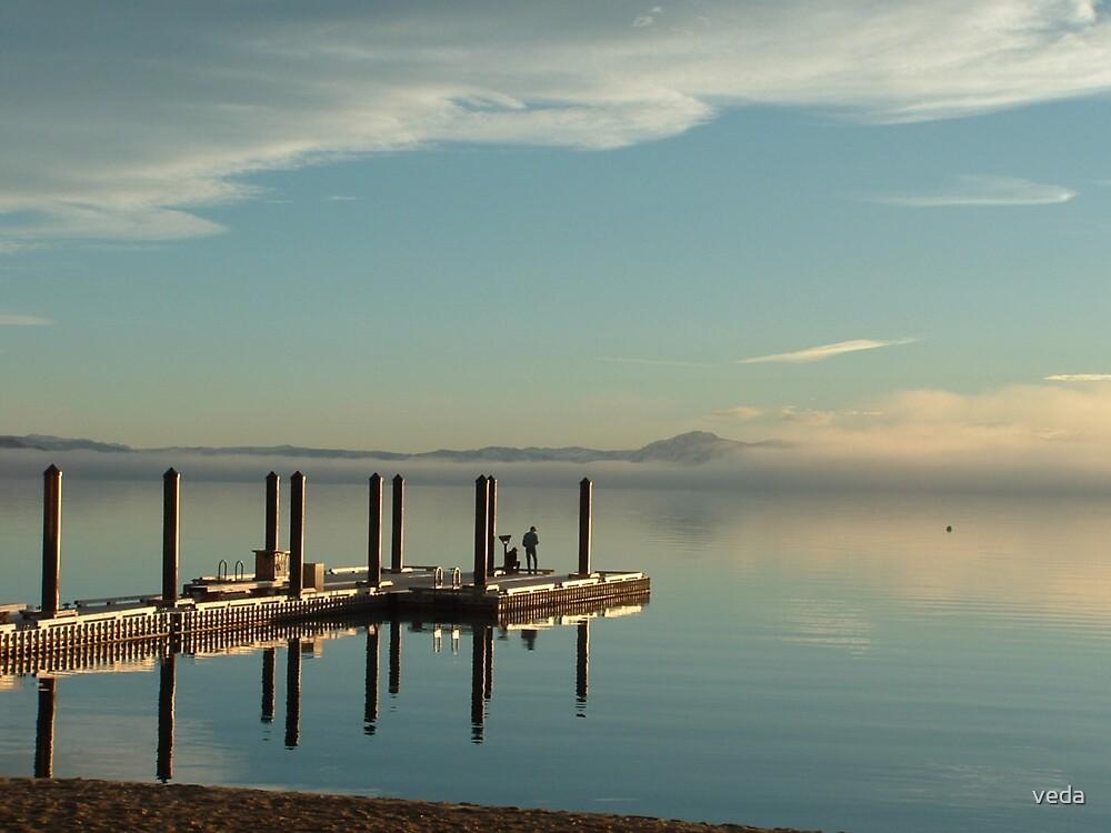 Tahoe Pier 01 by veda