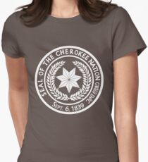 Cherokee Womens Fitted T-Shirt