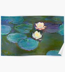 Claude Monet - Water Lilies Poster