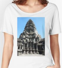 Angkor Wat West Tower Women's Relaxed Fit T-Shirt