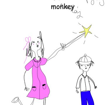 Flying Monkey by Lydia