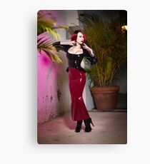 Red Rubber Canvas Print