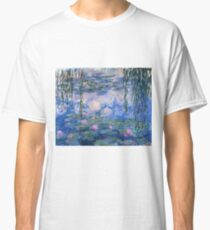 Claude Monet - Water Lilies Classic T-Shirt