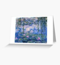 Claude Monet - Water Lilies Greeting Card