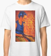 Years of silence, 50-80cm, 2017, oil on canvas Classic T-Shirt